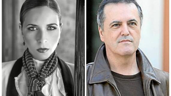 Rocío Márquez y Cobos Wilkins, encuentro solidario de estrellas en 'La butaca azul'