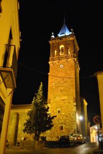 La Torre de Zalamea estrena iluminación artística