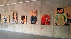 Algunas de sus obras de su serie 'Vietnam'.
