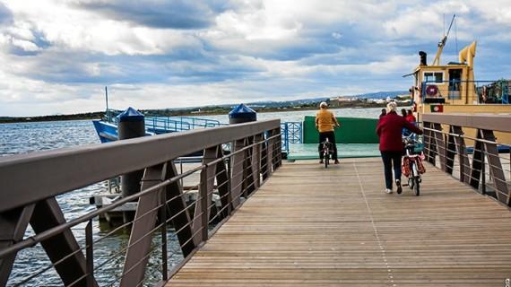 Huelva y Portugal, más unidos tras la reinauguración del muelle de pasajeros del puerto de Ayamonte