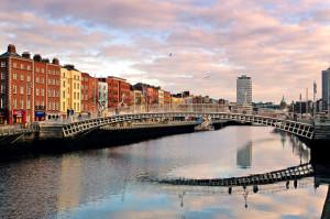 Grandes empresas como Google o Facebook están establecidas en Dublín.