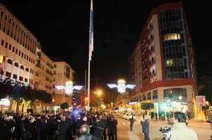 Nueva bandera en la Plaza de Los Litri.