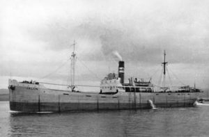 "El vapor ""Jalón"" se llamó ""Huelva"" en 1937"