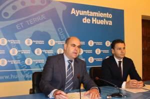 Saúl Fernández y Felipe Arias, en rueda de prensa.