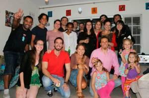 Grupo de españoles en Durban.