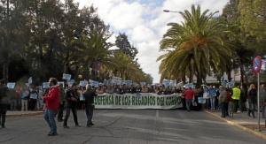 Manifestación de la Plataforma el pasado 15 de enero.