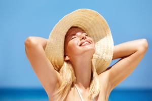 La luz solar es sinónimo de salud.