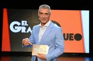 El humorista en su programa de televisión 'El gran queo'.