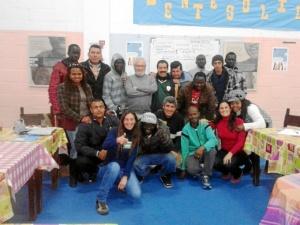 Foto de familia de los participantes del curso.