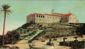 Imagen desde las misma perspectiva que el resto, publicada por los hermanos del Pino en 1901