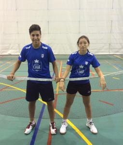 Alberto Cruzado y Alba Gómez, con opciones en el torneo de Arjonilla.