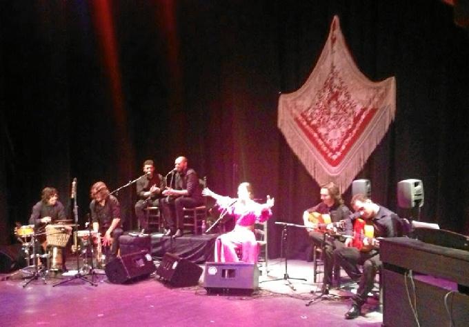 Concierto de Beatriz Romero en el Gran Teatro de Huelva.