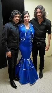 Makarines, Pepe El Marismeño o el Mni, acompañaron a la palerma en una noche especial.