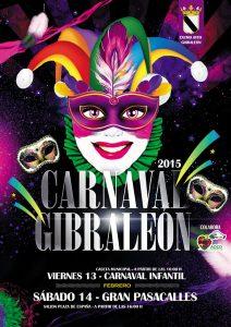 Cartel anunciador del carnaval de Gibraleón