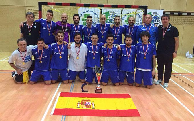 El CD Sordos Huelva impone su ley y reedita su título de campeón de la Champions League de fútbol sala