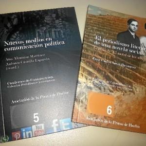 Cuadernos de Comunicación. /Foto: Asociación de la Prensa de Huelva
