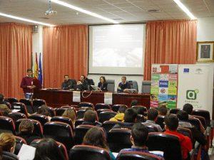 Jornadas sobre emprendimiento en la Universidad de Huelva.