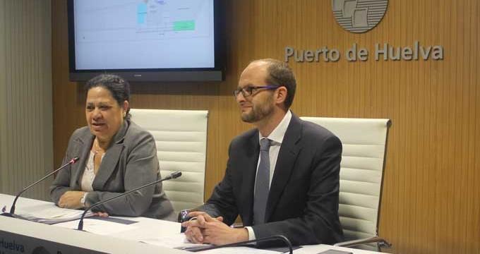 El Puerto de Huelva contará con una plataforma intermodal, que incluye una nueva terminal ferroviaria y marítima