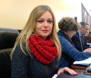 La diputada Rocío Cárdenas.
