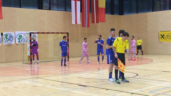 El CD Sordos Huelva se juega esta tarde con el Karlsruhe alemán la disputa de la final de la Champions League