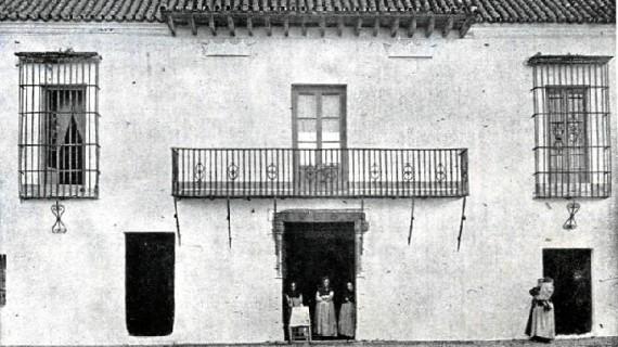 Antiguo Palacio del Marqués de Ayamonte en la segunda década del siglo XX