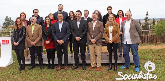 El PSOE de Huelva presenta su candidatura a las andaluzas del 22 de marzo