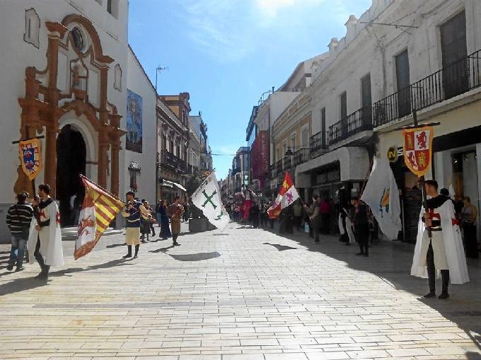 Las calles del centro ambientas.