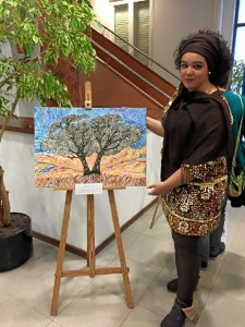 Patricia es estudiante del Grado de Gestión Cultural.