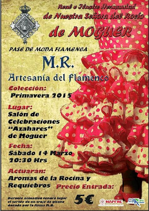 Artesanía Flamenco M.R. lleva sus diseños de flamenca a Moguer