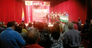 Acto de IU en Bollullos del Condado.