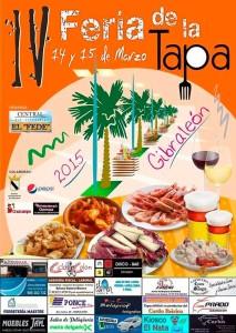 Cartel de la Feria de la Tapa.