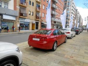 Una variada gama de vehículos BMW y MINI estarán a disposición de los onubenses hasta el próximo sábado