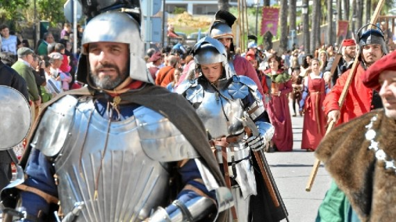 Palos ultima los preparativos de la XVI Feria Medieval del Descubrimiento