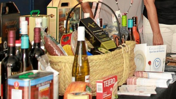 'Que sea de Huelva', presente en la VII Feria Gastronómica de El Andévalo