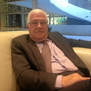 Abel Moreno durante la entrevista a Huelva Buenas Noticias.