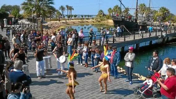 El Muelle de las Carabelas bate récord de asistencia con más de 8.000 visitas durante las dos Jornadas de Puertas Abiertas