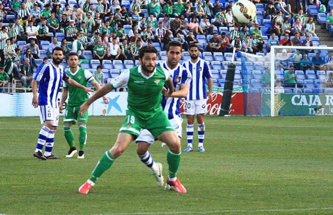 Montoro se lesionó ante el Betis. / Foto: Josele Ruiz.
