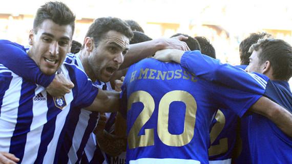 El Recre examina la solidez de su reacción ante el Tenerife, un rival directo por la permanencia