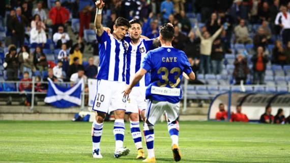La reacción incompleta del Recreativo ante el Tenerife se salda con simple empate (1-1)