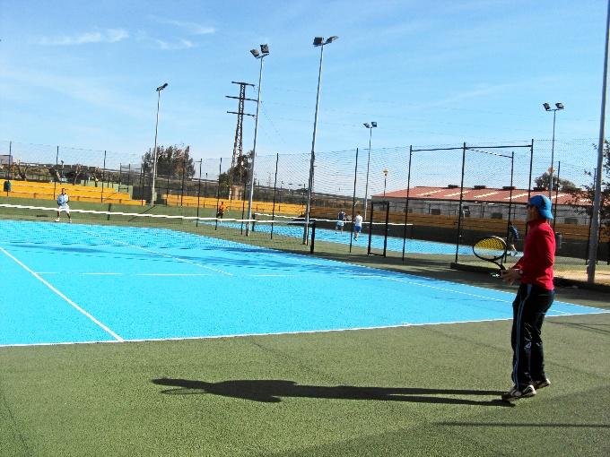 Torneo Dia de Andalucia con motivo de las reformas de las pistas de tenis.