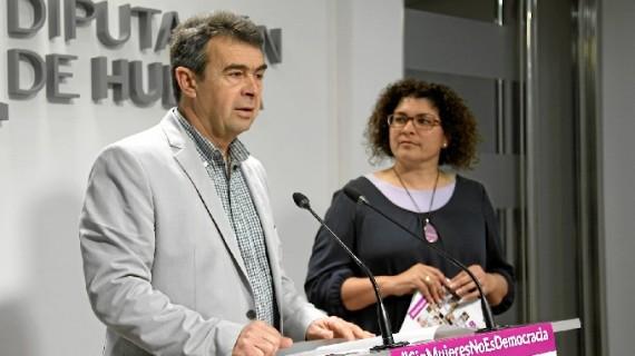 Presentan la programación para el 8 de marzo, bajo el lema 'Sin mujeres no es democracia'