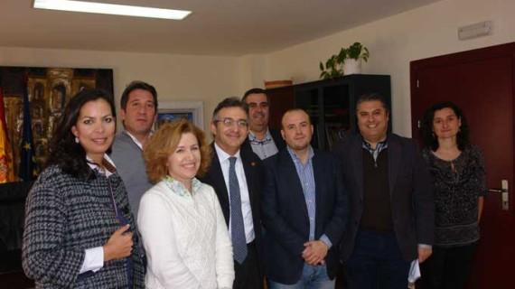 Encuentro de Ciudadanos con el rector de la Onubense