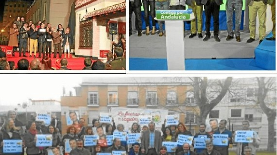 Los partidos políticos comienzan la campaña en Huelva