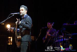 Jorge Drexler en su actuación en Almonte.