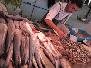 Los productos frescos de los mercados onubenses son envidiables.