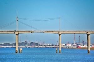 Entre otras actuaciones, estuvo trabajando en el conocido como 'Puente del Burro'. / Foto: quétiempo.es.