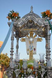 La romería en honor a la Santa Cruz de Punta Umbría comienza el 1 de mayo.