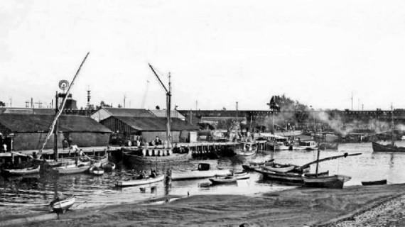 Muelle de Larache, tercera década del siglo XX