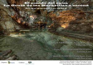 Cartel anunciador del ciclo musical en Aracena.