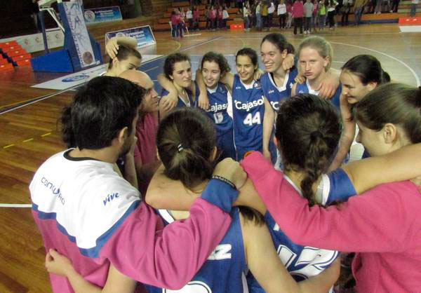 Primer partido y triunfo del equipo conquerista en el Campeonato de España junior. / Foto: @CBConquero.